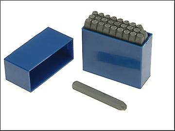 Priory 181- 6.0mm Set of Letter Punches 1/4in