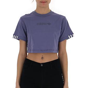 Adidas Purple Cotton Top