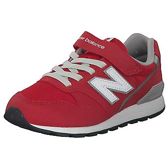 New balance kids red low sneaker