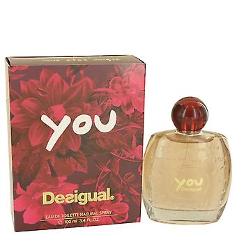 Desigual por Desigual Eau De Toilette Spray 3.4 oz/100 ml (mujer)
