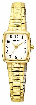 Lorus Ladies' Classic Gold Plated RPH56AX9 Watch