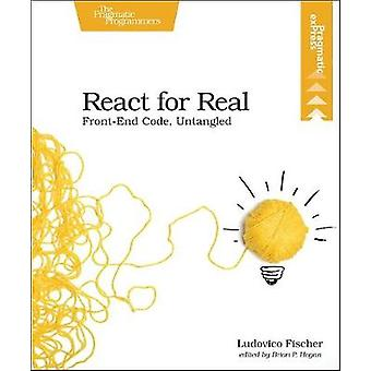 React for Real by Ludovico Fischer - 9781680502633 Book