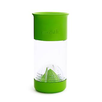 Munchkin Miracle 360 Fruit Infuser Cup Green 14oz