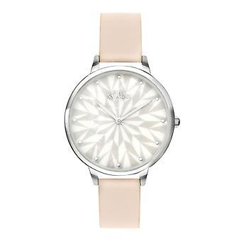 s.Oliver Damen Uhr Armbanduhr Leder SO-3577-LQ