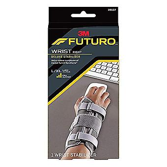 Futuro deluxe wrist stabilizer, right hand, tan, large/x-large, 1 ea