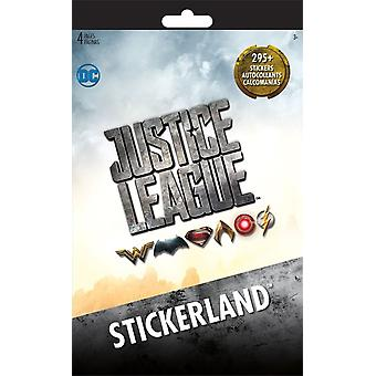 Stickerland Pad - Justice League - 4 pages New st3111