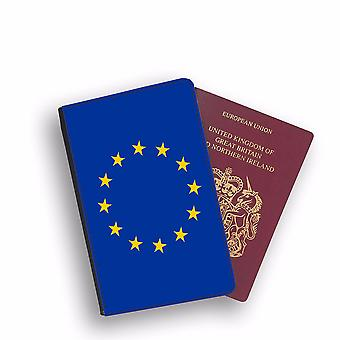 EU Flag Passport Holder Style Case Cover Protective Wallet Flags design