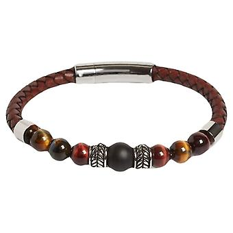Simon Carter Jacob Tigers Eye Bracelet - Brown
