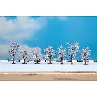 Tree set Height (min.): 80 mm Max. height: 100 mm NOCH 25075 Pure white 7 pc(s)