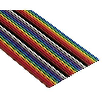 3M 80610790281 3M-3302-64 SF Colour-coded Flat Ribbon Cable 3302 0.080 mm² Multi-coloured