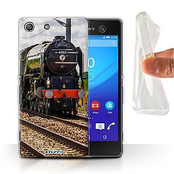 STUFF4 Gel/TPU Case/Cover for Sony Xperia M5/Tornado/Steam Locomotive