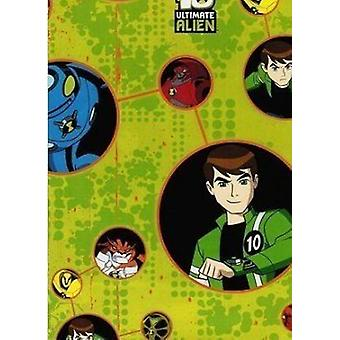Ben 10 Ultimate Force Gift Wrap & Tags