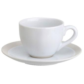 Avet Coffee Cup With Plate Set of 6 110ml