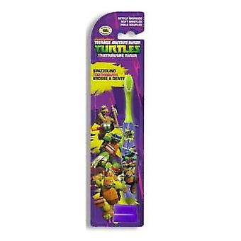 Tortugas Ninja Toothbrush Ninja Turtles (Childhood , Dental hygiene , Brushes , Manuals)
