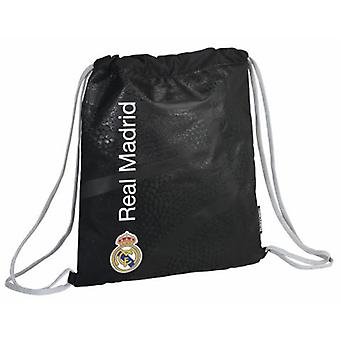Real Madrid Saco Plano Basket (Jouets , Zone Scolaire , Sac À Dos)