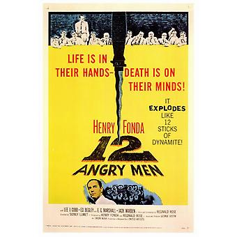 Twelve Angry Men Movie Poster Print (27 x 40)