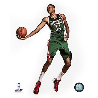 Giannis Antetokounmpo 2013 Posed Photo Print