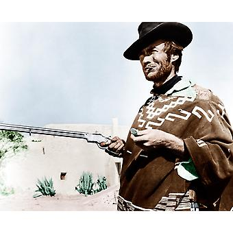 For A Few Dollars More Clint Eastwood 1965 Photo Print