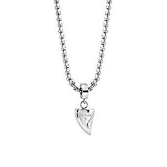 Guess men's chain necklace stainless steel Silver UMN21516