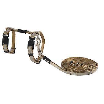 Rogz Catz Sparklecat Lead & Harness Extra Small Bronze