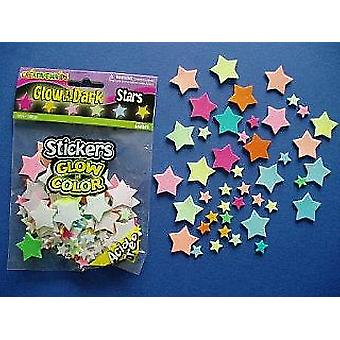 100 Glow In the Dark Star Foam Stickers for Kids Crafts | Outer Space Crafts