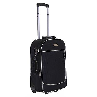 Slimbridge Rennes Cabin 55 cm Expandable Suitcase, Black