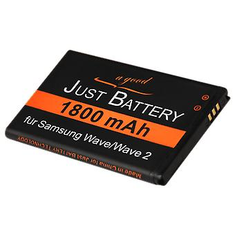 Batteri for Samsung wave II GT s8530
