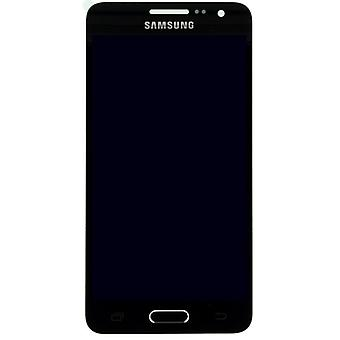 Display LCD complete set touch screen GH97-16747 B black for Samsung Galaxy A3 A300 A300F