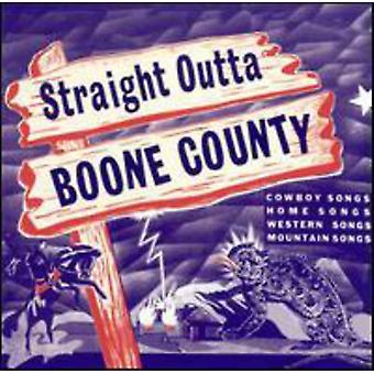 Recto sin Condado de Boone - Straight Outta Boone County [CD] USA importar