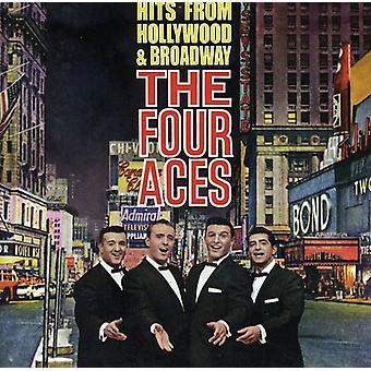 Cuatro Ases - importación de USA de éxitos de Hollywood y f [CD]