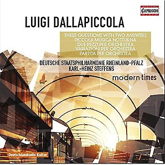 Luigi Dallapiccola - Same [CD] USA import