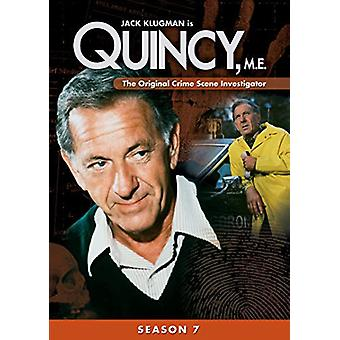 Quincy Me: Season Seven [DVD] USA import