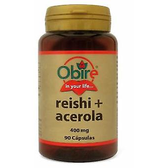 Obire And Acerola 400mg Reishi. 90Cap. (Vitamins & supplements , Fungis)