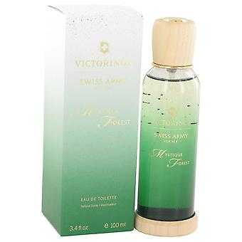 Swiss Army Women Swiss Army Mystique Forest Eau De Toilette Spray By Swiss Army
