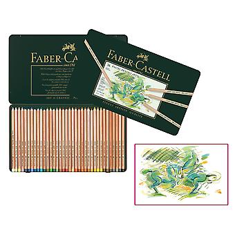 Faber Castell Caja metall 36 Lápices Faber Al pastell