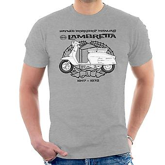 Haynes Owners Workshop Manual Lambretta 3 Men's T-Shirt