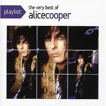 Alice Cooper - Playlist: The Very Best of Alice Cooper [CD] USA import