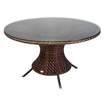 Alexander Rose Ocean Wave Table with Glass 1.3m