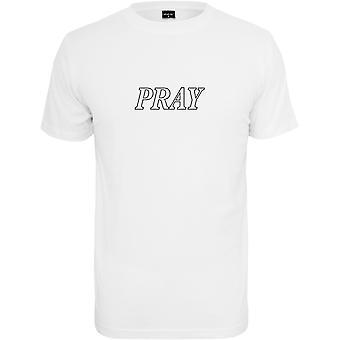 Mister tee shirt - PRAY HANDS white