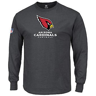 Majestic OUR TEAM Longsleeve - Arizona Cardinals charcoal