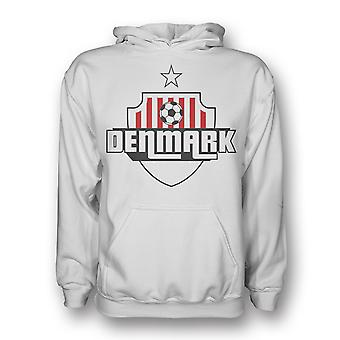 Danemark pays Logo Hoody (blanc) - Kids