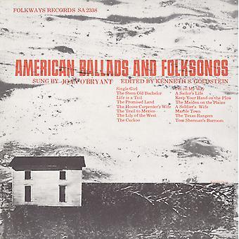 Joan O'Bryant - American Ballads & Folksongs [CD] USA import