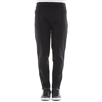 Neil Barrett men's BJP54NF51401 black nylon pants