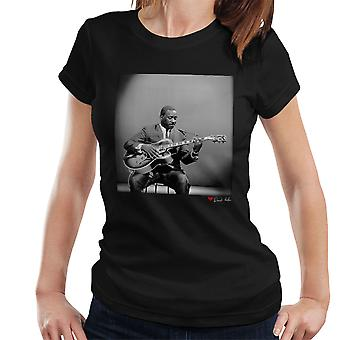 Wes Montgomery Playing Guitar 1964 Women's T-Shirt