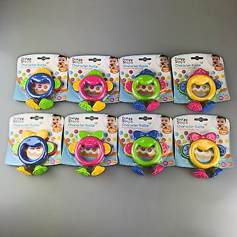 Baby Rattle Toddler Baby Toys Playtime Kids Fun Teether Rattle BPA Free Set of 2
