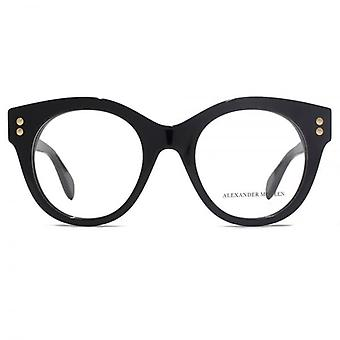 Alexander McQueen Edge AM0035 Glasses In Black
