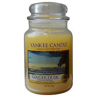 Yankee Candle By  Ginger Dusk Scented Large Jar 22 Oz