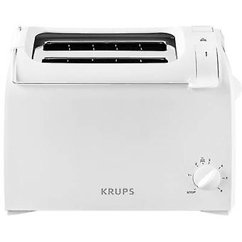 Toaster with built-in home baking attachment Krups ProAroma Whit