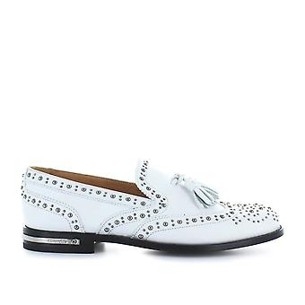 Church's women's DS00379ACEF0ABK White Leather moccasins