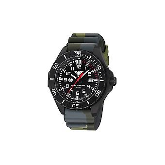 KHS watches mens watch black steel KHS country leader. LANBS. DC3